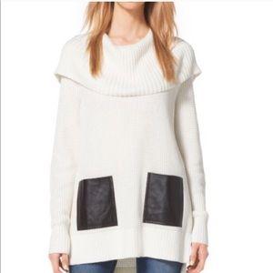 NWOT Michael Kors cowl sweater